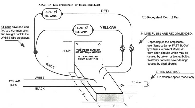 Diagram Electronic Flasher Wiring Diagram