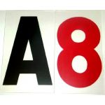 "8"" on 10"" 060 Rigid Reader Board Marquee Letter"