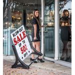 Best Selling Rolling Swinger Sidewalk Sign