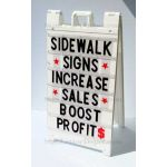 A-FRAME SIDEWALK SIGN