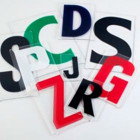 Gemini Condensed  Letters for School Signage