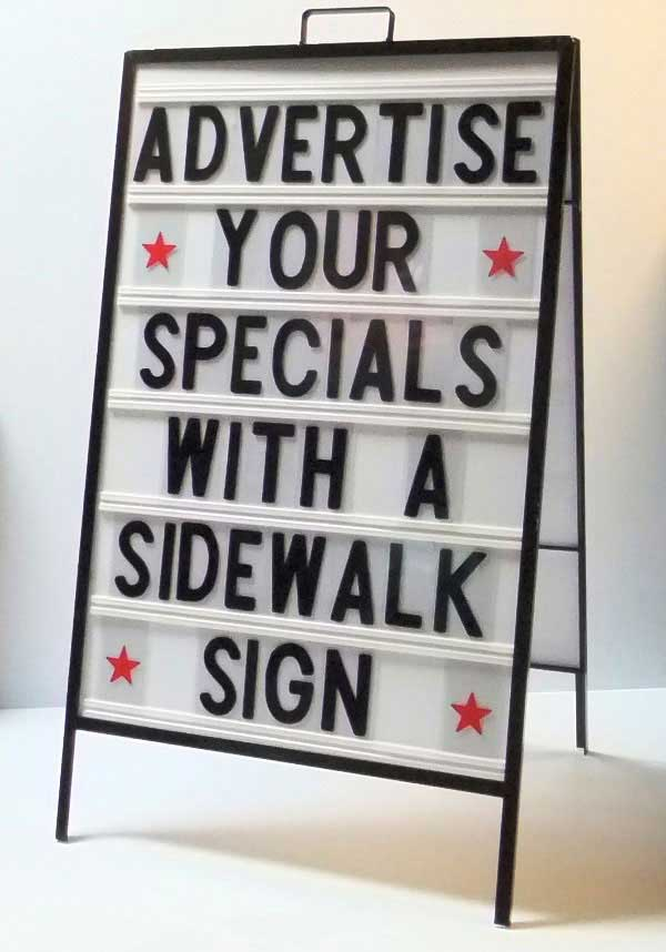 sidewalk signs and other changeable letter advertising sidewalk signs and other changeable letter advertising 748