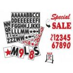 4 Inch Sidewalk Sign Letters Swinger