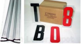 6 inch Flex Letters and Track kit