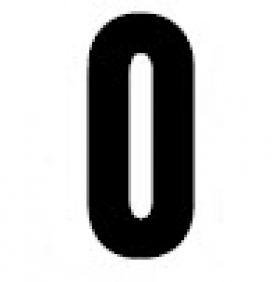 Gemini Sign Number 0 Zero