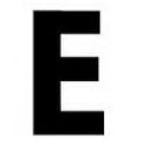 Gemini Pronto Individual Letter E
