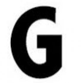 Pronto Gemini individual Letter G