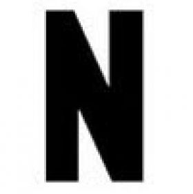 Replacement Sign Letters - Gemini Letter N