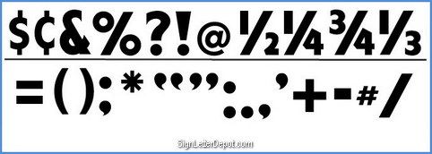 Punctuation Character